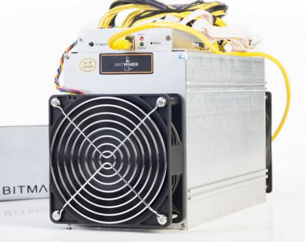 Bitmain Antminer L3++ Bitcoin Miner + Bitmain APW3++ Netzteil 1600W